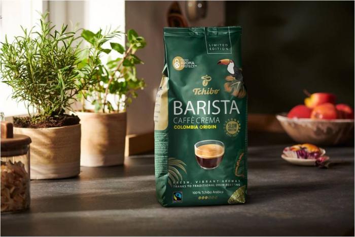 TCHIBO Barista Caffè Crema Columbia Origin Cafea Boabe 1Kg [1]