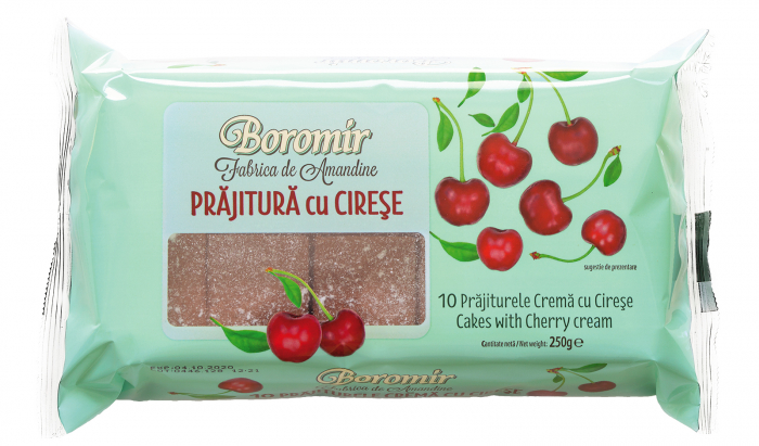 Prajitura cu Crema de Cirese BOROMIR 250g [0]