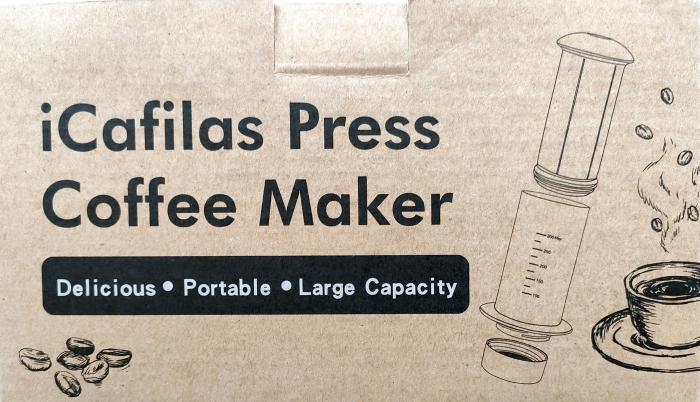 Presă de Aer pentru Prepararea Cafelei - Filtru de Cafea Espresso Manual, Portabil, Capacitate 300ml [13]