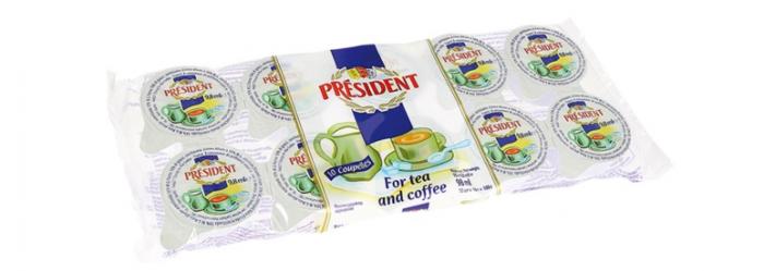 PRESIDENT Lapte Condensat 10x10g [0]