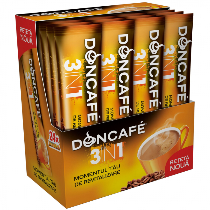 DONCAFE Mix 3in1 Cafea Instant Plic 24x13g [0]