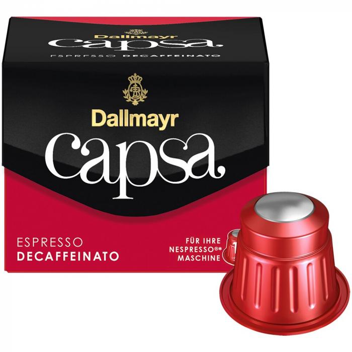 DALLMAYR CAPSA Capsule Cafea Decofeinizata 10buc 56g [0]
