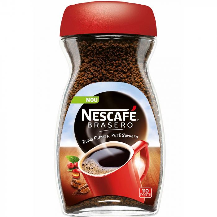 NESCAFE Brasero Cafea Solubila Instant bo. 200g [0]