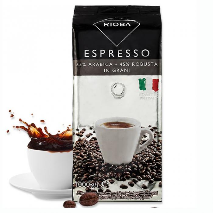 RIOBA Caffe Espresso 55% Arabica 45% Robusta [0]