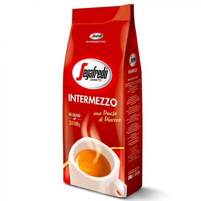 SEGAFREDO Intermezzo Cafea Boabe 1kg [0]