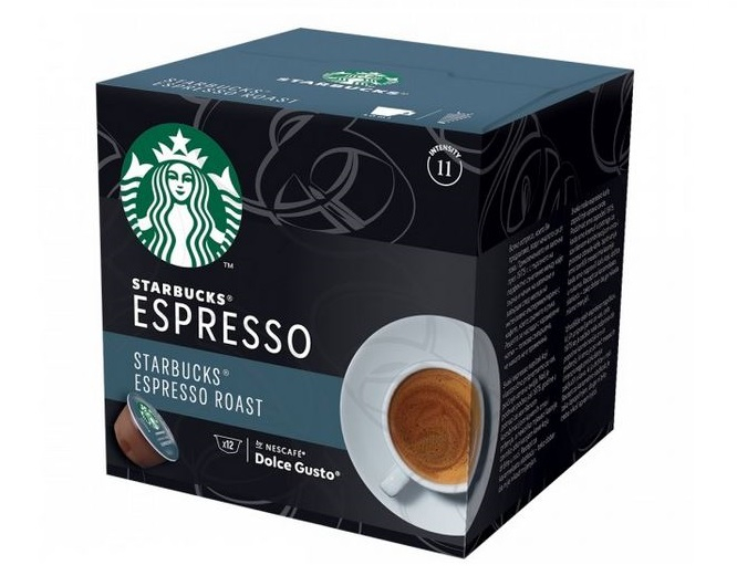 STARBUCKS Espresso Capsule Dolce Gusto 66g 6 bauturi [0]