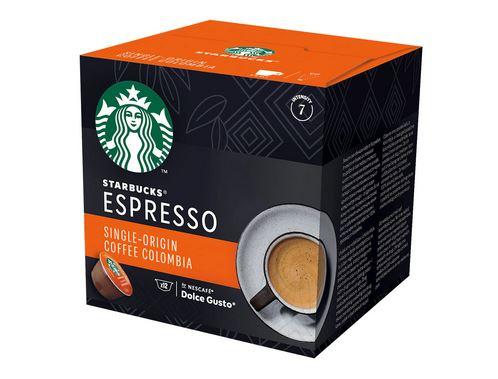 STARBUCKS Espresso Colombia Capsule Dolce Gusto 66g 6 bauturi [0]