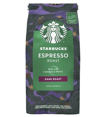 STARBUCKS Espresso Roast Dark Roast Cafea Boabe 200g [0]