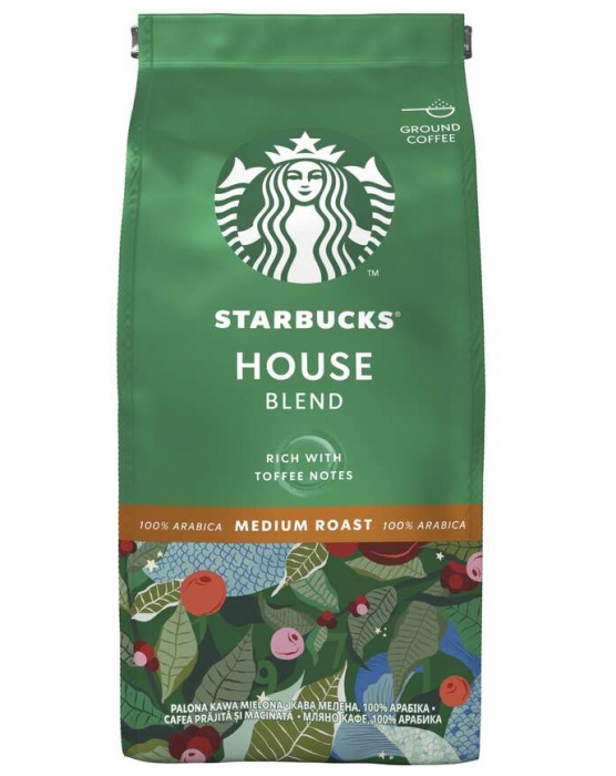 STARBUCKS House Cafea Macinata 200g [0]