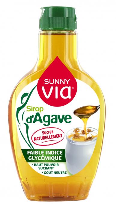 SUNNY VIA Sirop de Agave Natural 350g [0]