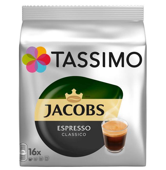 TASSIMO Jacobs Espresso Classico Capsule cu Cafea 16buc 118.4g [0]