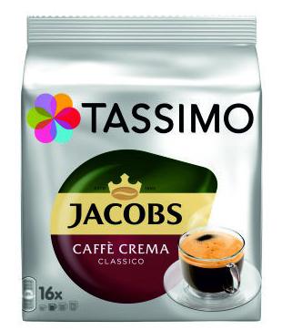 TASSIMO Jacobs Caffe Crema Classico Capsule cu Cafea 16buc 112g [0]