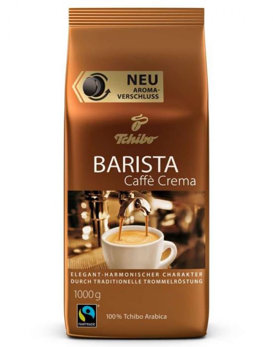 TCHIBO Barista Caffee Crema Cafea Boabe 1Kg [0]