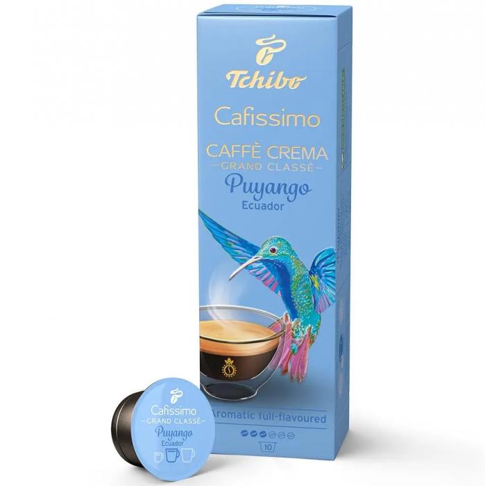 TCHIBO CAFISSIMO Capsule Caffe Crema Puyango Ecuador 10x8g [0]