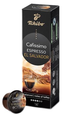 TCHIBO CAFISSIMO Capsule Espresso El Salvador 80g [0]