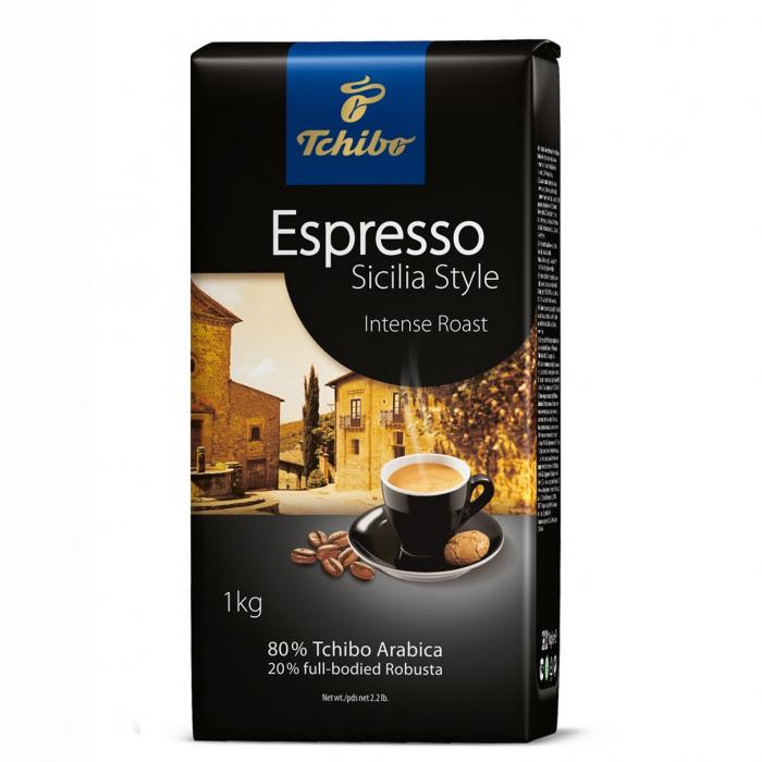 TCHIBO Espresso Sicilia Style Cafea Boabe 1Kg [0]