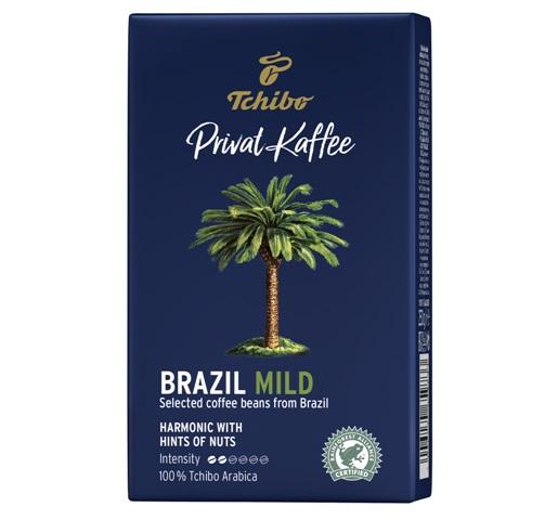 TCHIBO Private Kaffee Brazil Mild Cafea Macinata 250g [0]