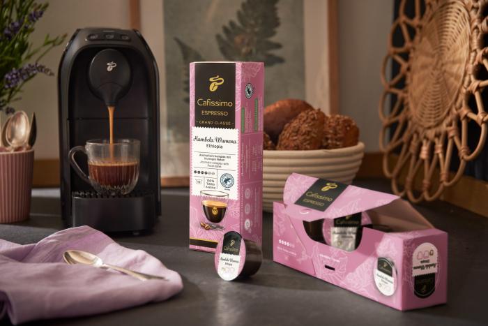TCHIBO CAFISSIMO Capsule Espresso Hambela Wamena 10x8g [6]