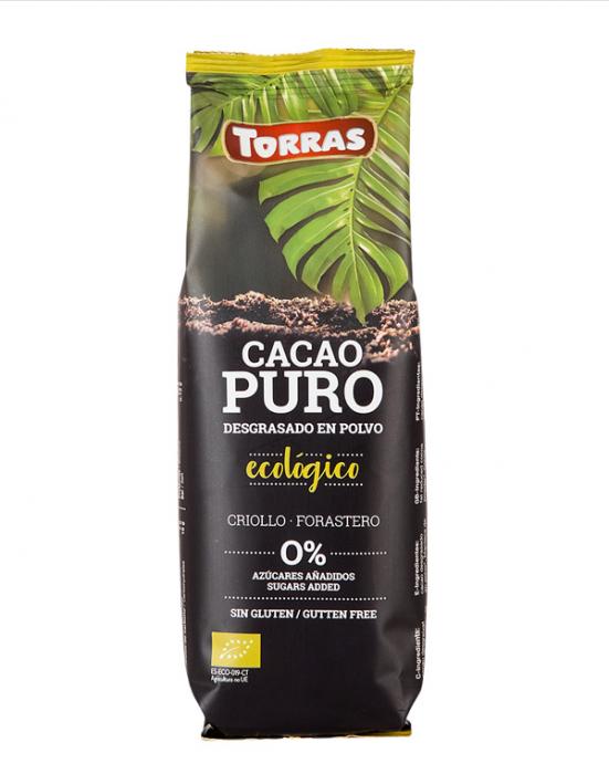 TORRAS Cacao Pudra Bio Ecologica fara Zahar si Gluten 150g [0]