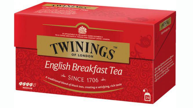 TWININGS Ceai Negru English Breakfast 25x2g [0]