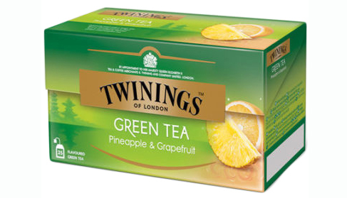 TWININGS Ceai Verde cu Ananas & Grapefruit 25x1.6g [0]