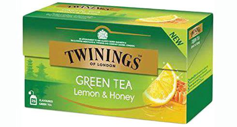 TWININGS Ceai Verde cu Lamaie & Miere 25x1.6g [0]