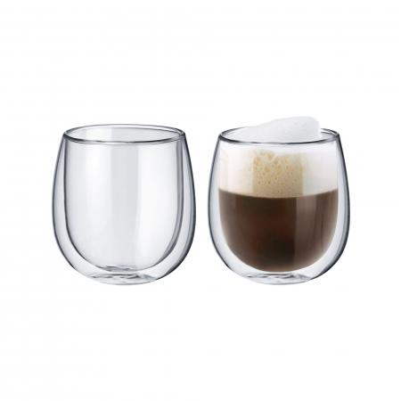 Pahar din Sticla Borosilicata cu perete Dublu 250ml 1buc [0]