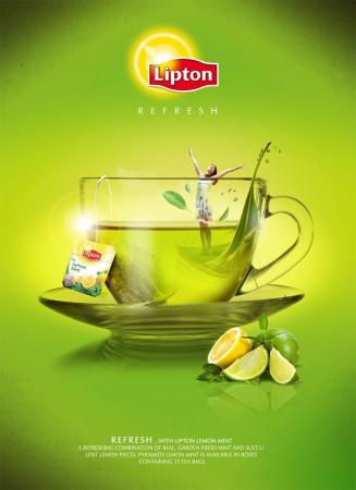 LIPTON Balance Ceai Verde cu Aroma de Citrice 100 plicuri [3]