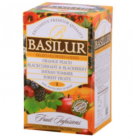BASILUR Assorted Vol.1 Ceai de Fructe Plic 20buc 36g [0]