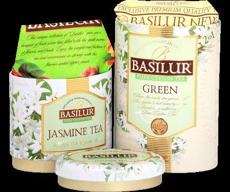 BASILUR Ceai Verde cu Iasomie in Cutie de Metal 125g [1]