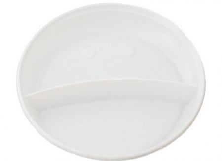 Farfurii Biodegradabile de Unica Folosinta 18cm 50buc [1]