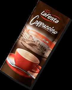 LA FESTA Cappuccino cu Gust de Rom 10x12,5g [0]