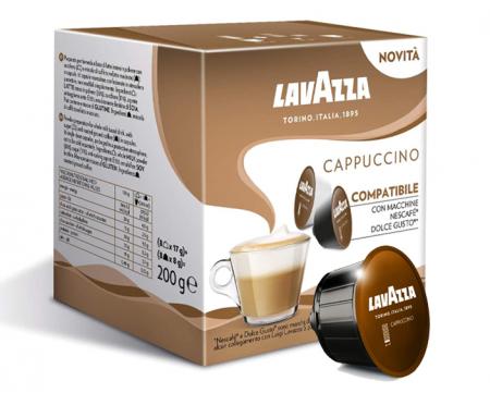 LAVAZZA Cappuccino Capsule Dolce Gusto 16buc 8 bauturi [1]