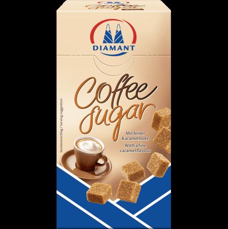 DIAMANT Coffee Sugar Zahar Brun Cubic pentru Cafea 350g [0]
