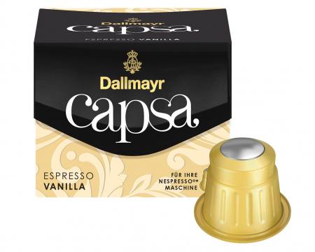 DALLMAYR CAPSA Capsule Espresso Vanilla 10buc 56g [1]