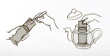 PRETTEA t-quick S Filtre de Unica Folosinta pentru Ceai 100buc [3]
