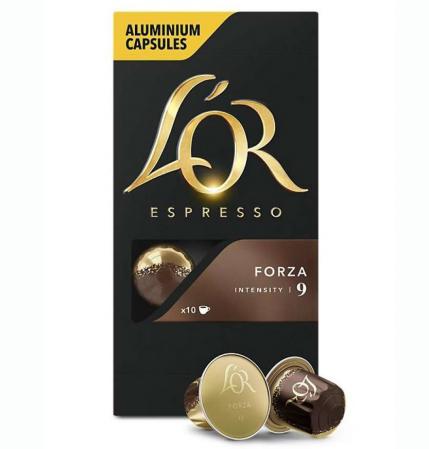 L'OR Capsule Espresso Forza 10buc [0]