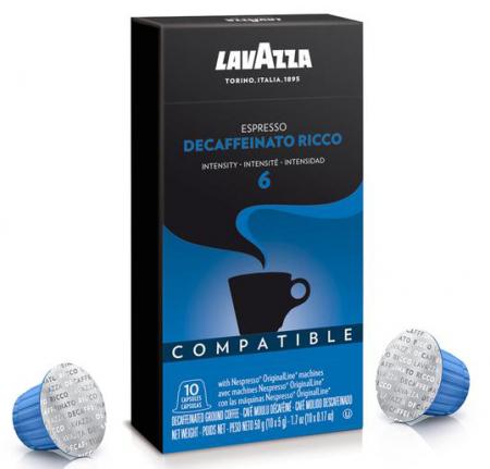 LAVAZZA Decofeinizata Ricco 6 Capsule Nespresso® 10buc [0]