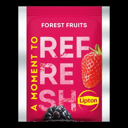 LIPTON Refresh Ceai Negru cu Fructe de Padure 25 plicuri [1]
