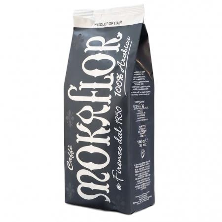 MOKAFLOR 100% Arabica Nero Cafea Boabe 1Kg [0]