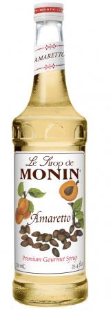 MONIN Amaretto Sirop pentru Cafea 700ml [0]
