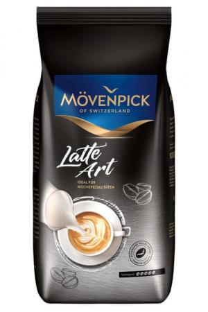 MOVENPICK Latte Art Cafea Boabe 1Kg [0]