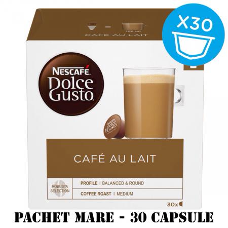 NESCAFE Cafe Au Lait Capsule Dolce Gusto 30buc 300g - Pachet Mare [0]