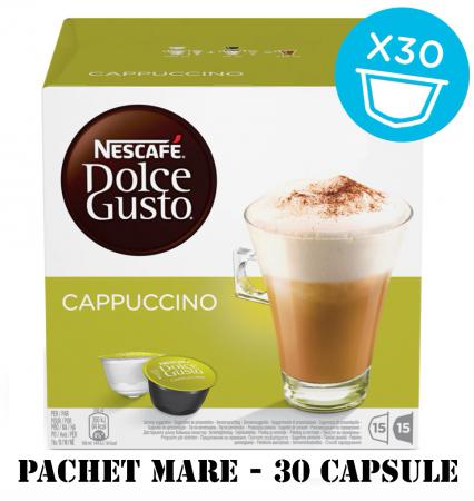 NESCAFE Cappuccino Capsule Dolce Gusto 30buc 350g - Pachet Mare [0]