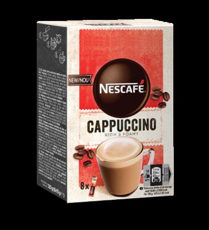 NESCAFE Cappuccino Instant Plic 8x15g [0]