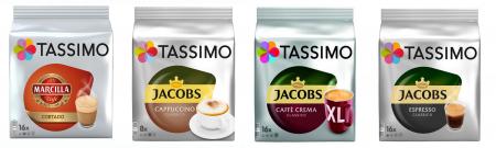 Pachet 12 cutii Capsule Cafea Tassimo + Cadou Espressor Bosch Tassimo Vivy II [7]