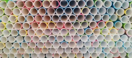 Paie Biodegradabile din Hartie de Unica Folosinta - Colorate 500buc [1]