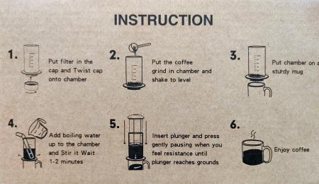Presă de Aer pentru Prepararea Cafelei - Filtru de Cafea Espresso Manual, Portabil, Capacitate 300ml [14]