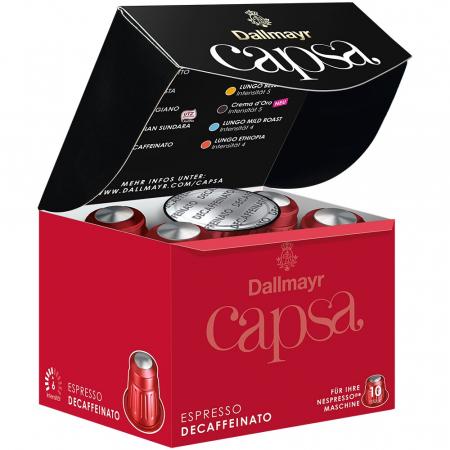 DALLMAYR CAPSA Capsule Cafea Decofeinizata 10buc 56g [1]