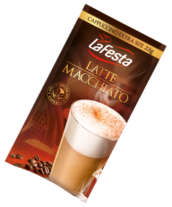 LA FESTA Latte Macchiato Bautura Instant Plic 8x22g [0]